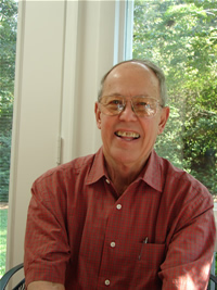 Photo of Harold Schiffman at home. Tallahassee, Florida (9 September 2005)