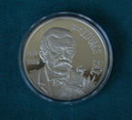 The City of Győr's Silver Medal, The Dr. Pál Kovàcs Medal (recto)