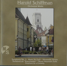CD cover for Symphony No. 2: Music for Győr