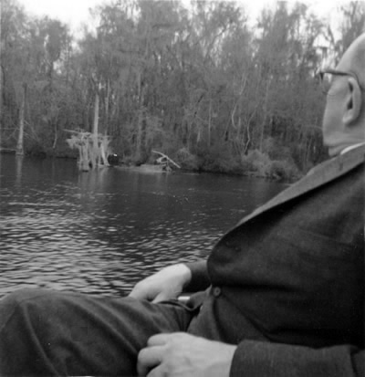 While in Tallahassee, Roger Sessions visited Wakulla Springs, just South of Tallahassee, to enjoy its serenity and beauty. Wakulla Springs, Florida (17 March 1963) Photographer unknown