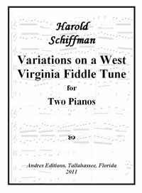 Photo of the cover page of Variations On a West Virginia Fiddle Tune (2011)