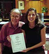 Photo of Harold Schiffman and Leah Jones, Tallahassee, Florida (29 Septbember 2011)