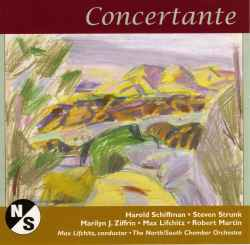 Photo of the Serenata Concertante (2009) CD cover